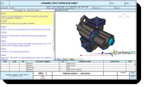 Cortona3D Pump Demo Launcher