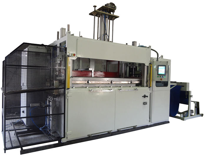 Single Station Thick Sheet Thermoforming Machine with Plug Assist low